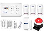 Комплект GSM сигнализации Kerui G18 для 2-комнатной квартиры, фото 4