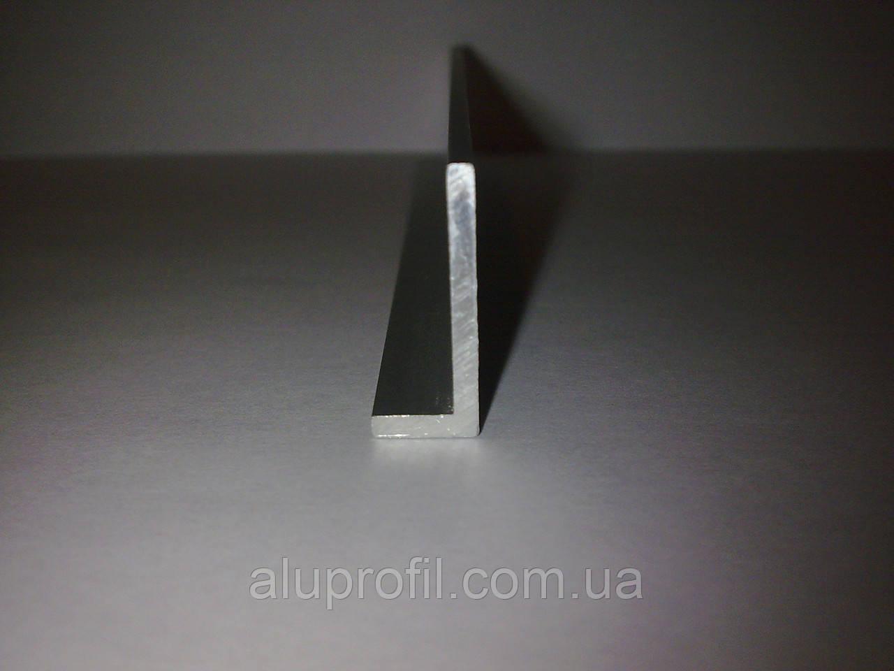Алюминиевый профиль — уголок алюминиевый 20х10х1 Б/П