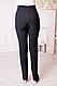 """Женские брюки """"Вера"""" , ткань Анжелика, р. 44,46,48,50,52,56,58,60 черный, фото 4"""