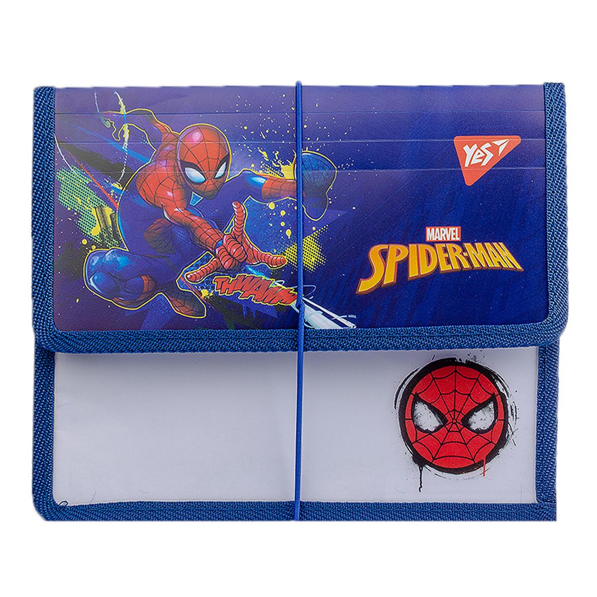 "Папка для тетрадей YES пласт. на резинке В5 ""Marvel"""