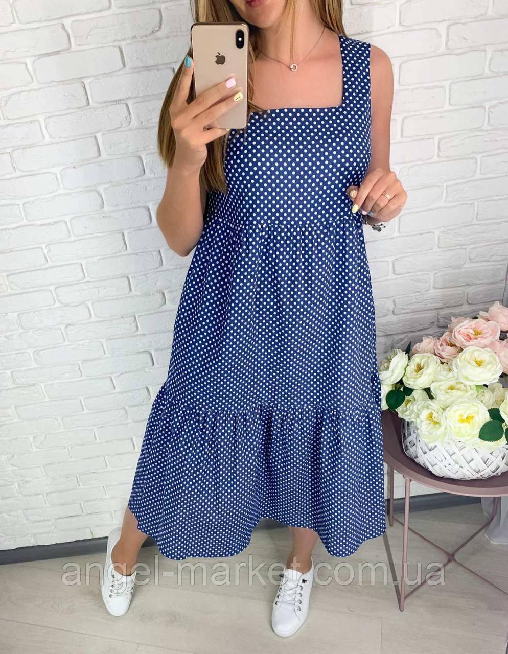Летнее платье,платье летнее норма и батал.Новинка2020