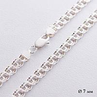 Срібна ланцюжок (плетіння Гарібальді)