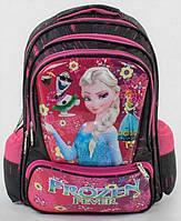 Школьный ранец рюкзак Фроузен для девочек 1, 2 класс. Детский портфель для школы Эльза