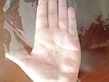 Пленка ПВХ 0,23мм под пошив. Рулон. Прозрачный. 1,4м ширина, 134кв.м., фото 2