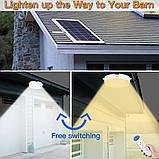 Светодиодный потолочный светильник на солнечной батарее два цвета с пультом дистанционного управления, фото 4