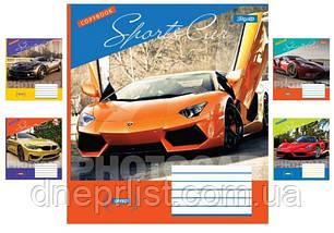"""Зошит 24 арк. клітинка """"1 Вересня"""" / Sports Car, фото 2"""