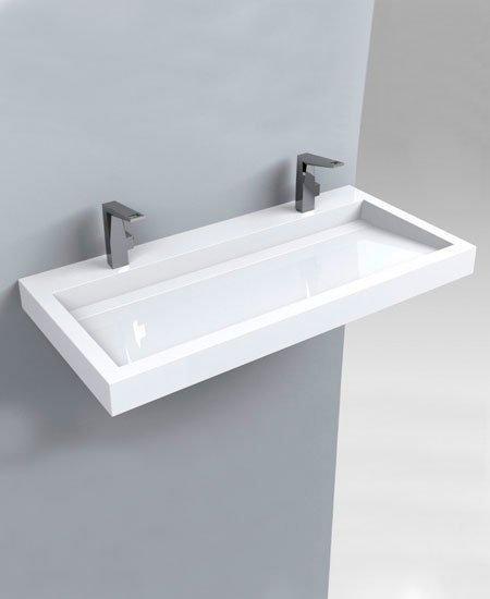 Miraggio Умывальник Agness 100*48 см, белый