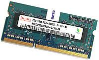 Оперативная память для ноутбука Hynix SODIMM DDR3 2Gb 1066MHz 8500S 1R8 CL7 (HMT325S6BFR8C-G7 N0 AA) Б/У, фото 1