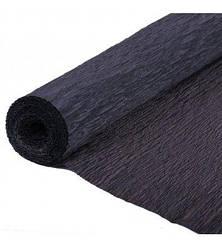 Гофробумага (креп бумага) 2.5 м Черный