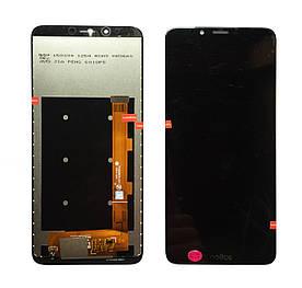 Дисплей для TP-LINK Neffos X9 TP913A с сенсорным стеклом (Черный) Оригинал Китай