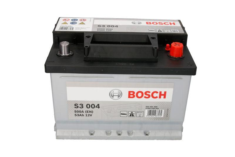 BOSCH 53Ah/500А S3 R+