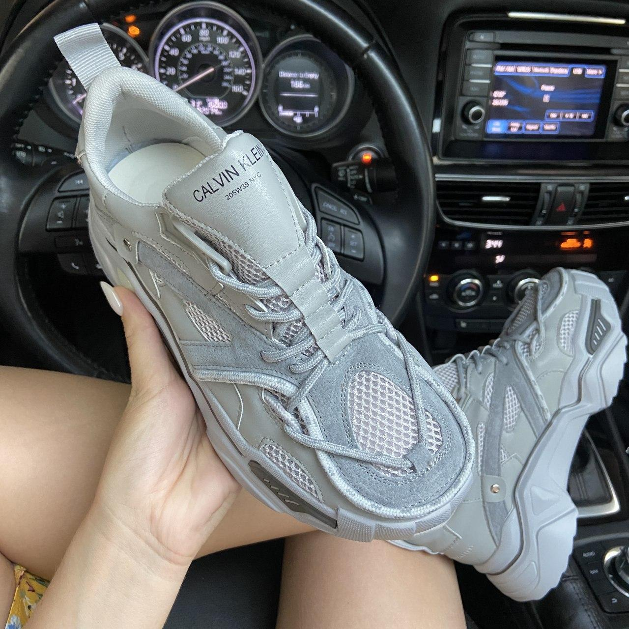 Кроссовки женские Strike 205 Gray. Стильные женские кроссовки CK.