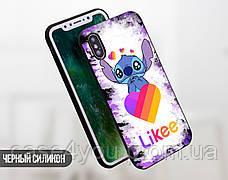 Силиконовый чехол для Huawei Y6 (2019) Стич Лайки (Stitch Likee) (13012-1596), фото 3