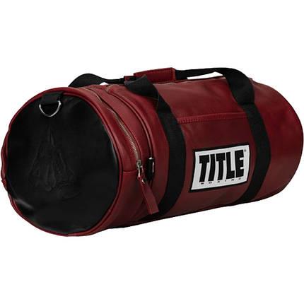 Кожаная спортивная сумка TITLE TBAG27, фото 2
