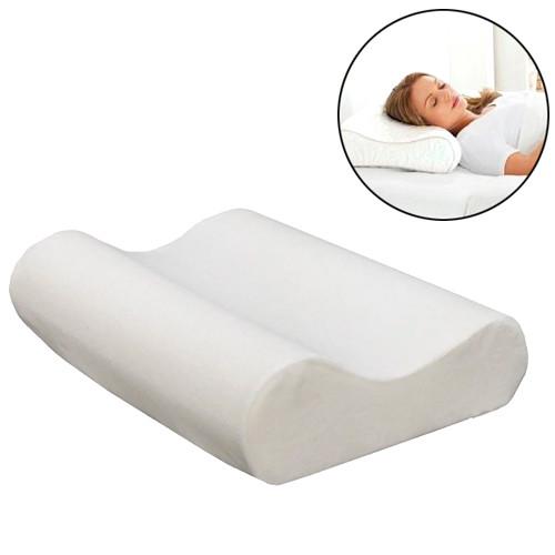 Подушка ортопедическая 50х30см, антиаллергенная, Memory pillow + чехол