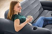 Надувной раскладной диван Intex 66552 (224*203*66 см)