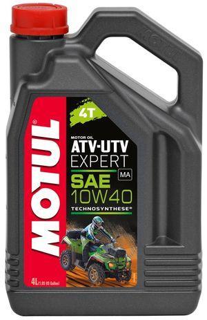 Масло 4T, 4л (для квадроциклов 10w-40, ATV UTV Expert) MOTUL Франция