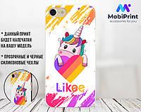 Силиконовый чехол для Samsung A520F Galaxy A5 (2017) Лайки Единорог (Likee Unicorn) (28188-1597)