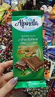 Молочный шоколад с арахисом «Alpinella»: каждый кусочек наполнен пользой