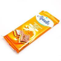 Польский молочный шоколад «Alpinella» с начинкой Тоффи: только натуральные компоненты и непревзойденный вкус