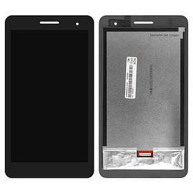 Дисплей (екран) для Huawei T1 (T1-701u) 7.0 3G MediaPad з сенсором (тачскрін) чорний Оригінал