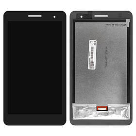 Екран (дисплей) для Huawei T1 (T1-701u) 7.0 3G MediaPad з сенсором (тачскрін) чорний