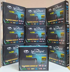 Спутниковый Mpeg4 DVB-S/S2 ресивер Sat-Integral SP-1219 HD Norma