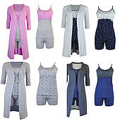 Комплекты халат и пижама