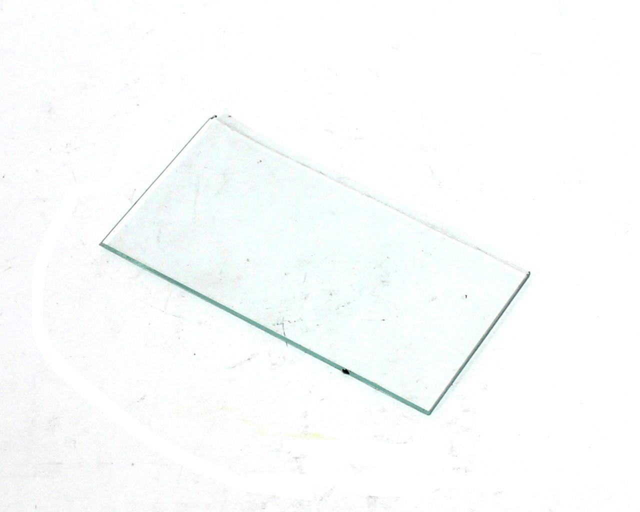 Стекло защитное прозрачное 52/102 мм толщина 2 мм