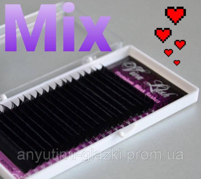 Ресницы Viva Lash MIX L 0.10 9-12