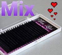 Ресницы Viva Lash черные D 0.85 (9-12)