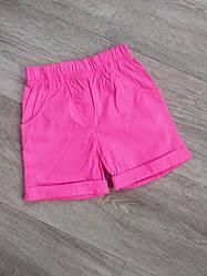 Стрейчевые шорты для девочки  р.92-116см