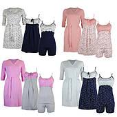 Комплекты в роддом халат ночная и пижама