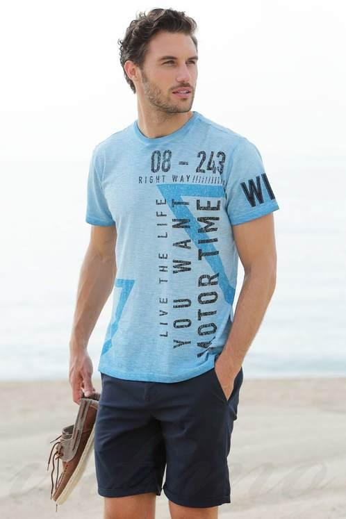 Мужская футболка, хлопок Massana E195343, размер XL