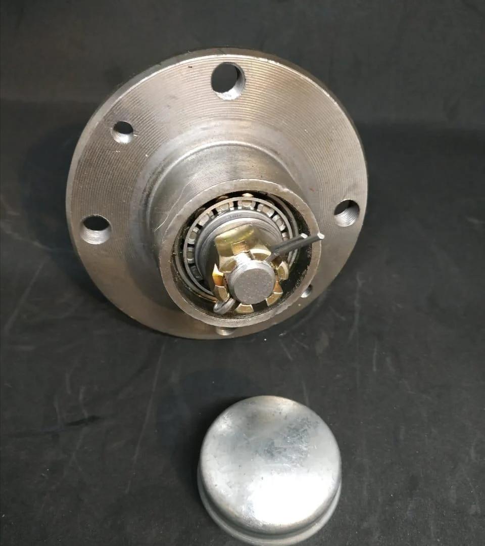 Маточина для причепа (зі шплінтом) під жигулівське колесо пара ( 2шт) Бут