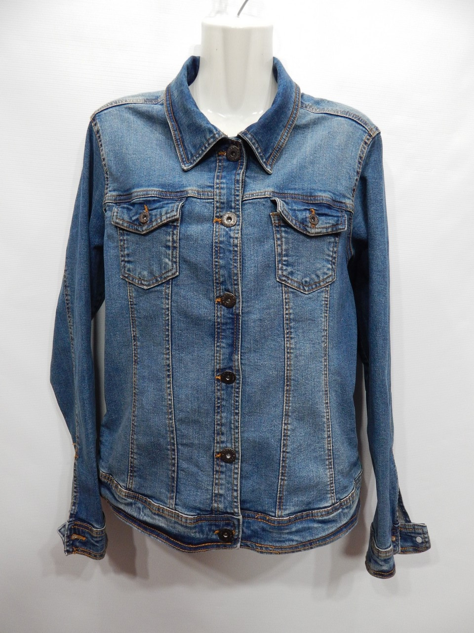 Куртка джинсовая женская Janina denim  RUS р.48-50, EUR 42 011DG