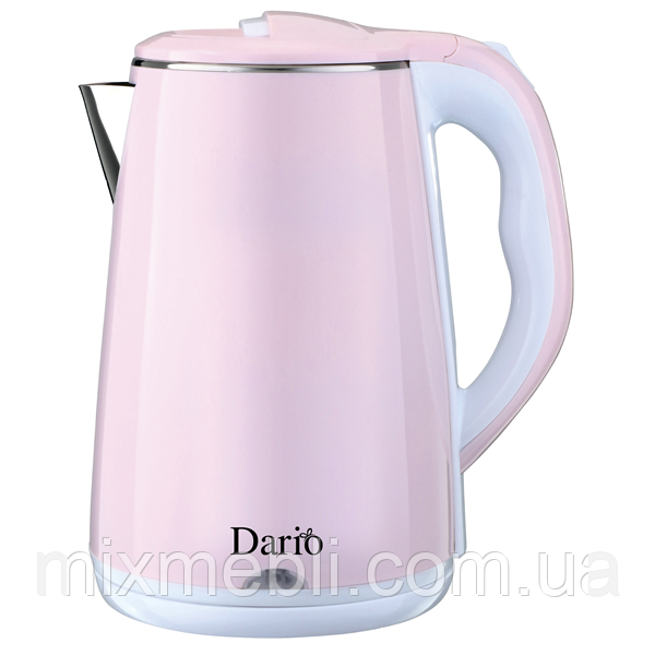 Чайник електричний (2,3 л; 2 кВт) DARIO DR2301_rose