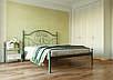 Двоспальне ліжко Офелія 160*200/180*200 «Метал-Дизайн», фото 2