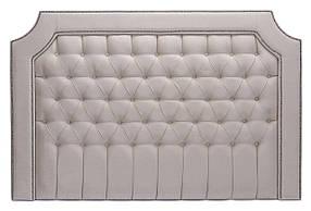 Стеновая панель для кровати с декоративными гвоздями SVL 200см *135см 0362-01