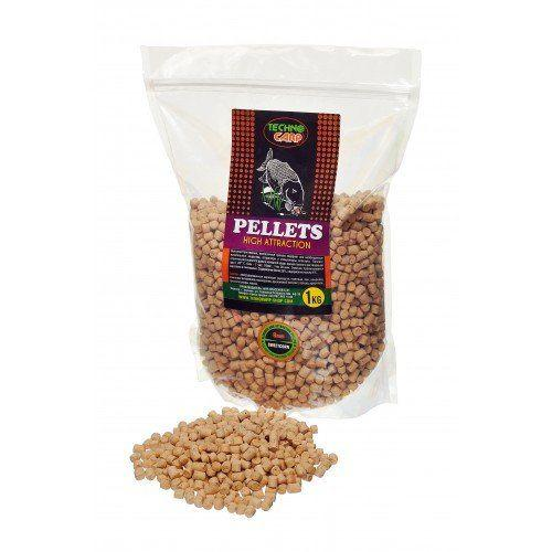 Пеллетс Texnokarp Favored Carp Pellets Sweetcorn 10mm