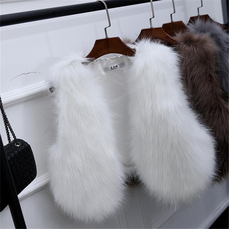Женская меховая жилетка. Модель 61700