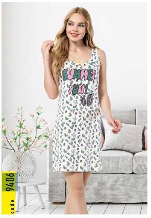 Платье домашнее IŞIK 9406