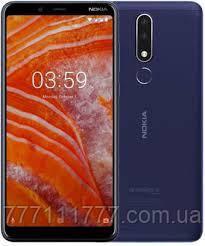 Смартфон нокиа синий, тонкий на 2 сим карты с двойной камерой Nokia 3.1 Plus TA-1113 3/32Gb blue