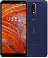 Смартфон нокиа синий, тонкий на 2 сим карты с двойной камерой Nokia 3.1 Plus TA-1113 3/32Gb blue, фото 1