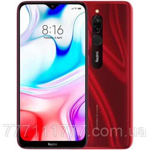 Смартфон ксиоми с большим дисплеем и хорошей мощной батареей на 2 sim Xiaomi Redmi 8 3/32Gb red Global Version