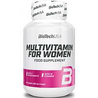 Biotech USA, Витамины Multivitamin for Women, 60 таблеток