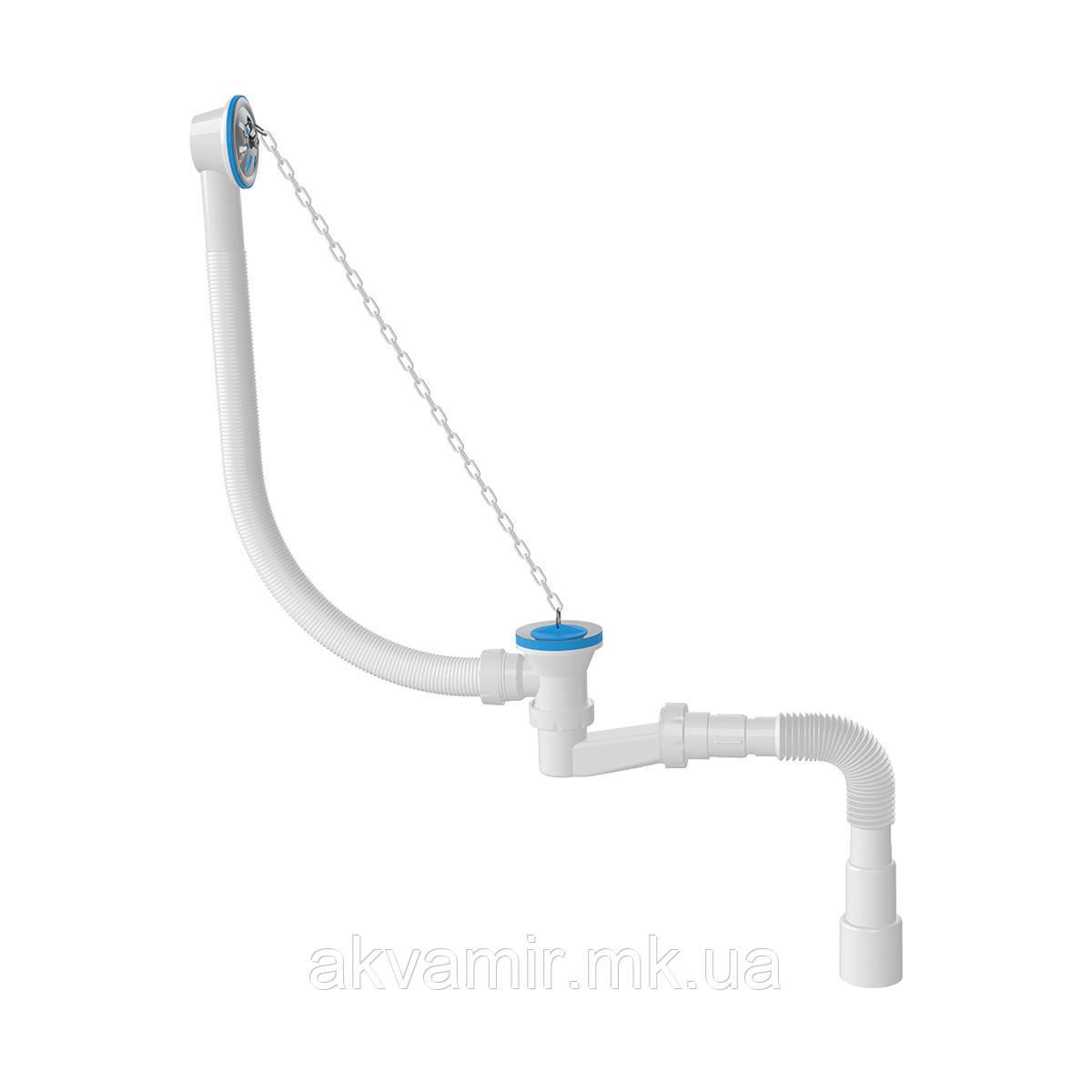 Сифон для ванны низкий 1521N (Турция)
