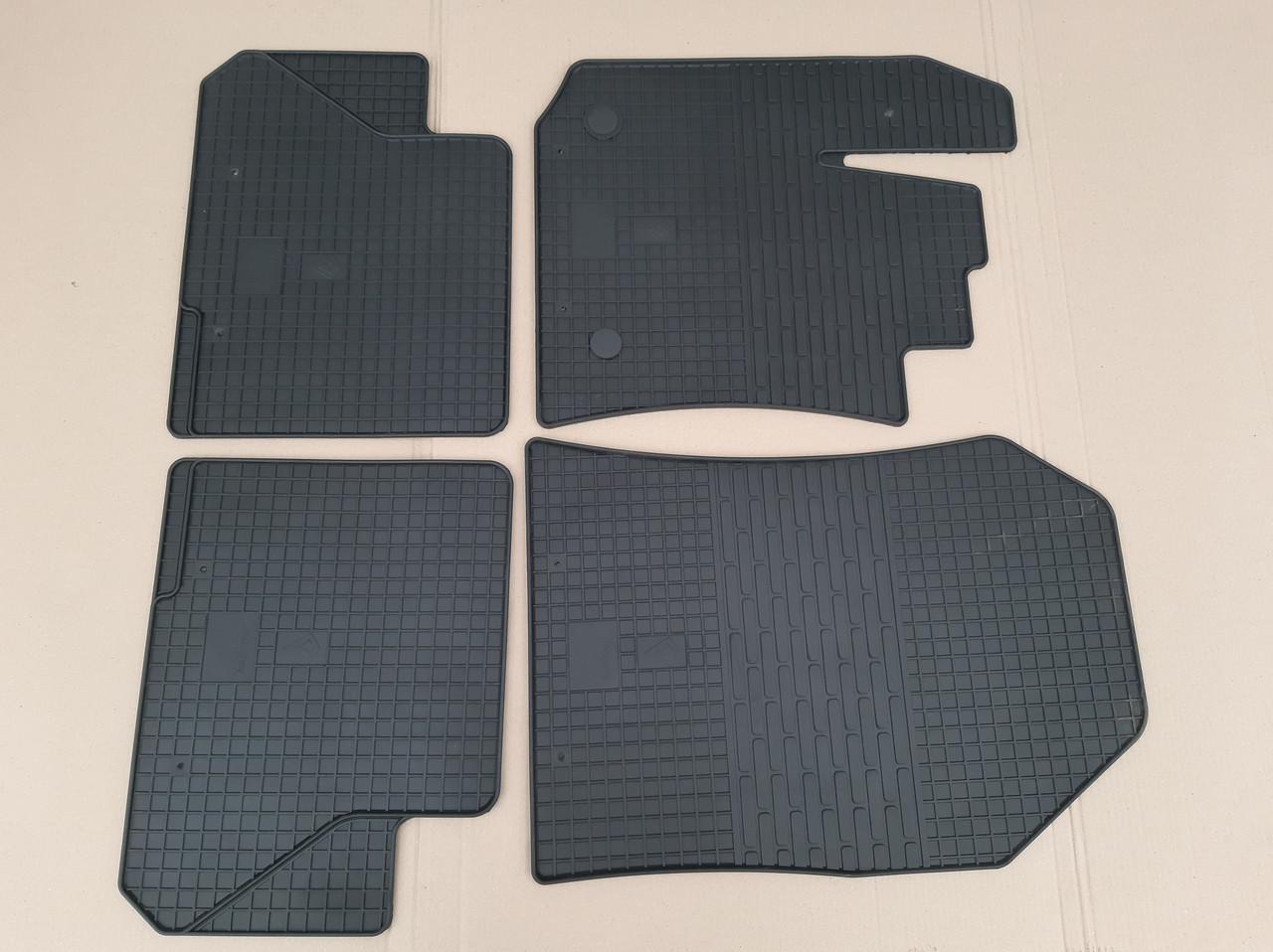 Резиновые коврики в автомобиль Renault Lodgy 2012- (Stingray)