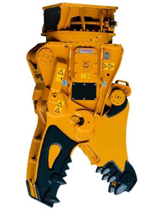 Гидроножницы Delta MK 70 с быстросъемными челюстями на экскаватор