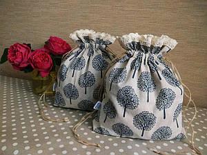 Еко-торбинка з льняної тканини